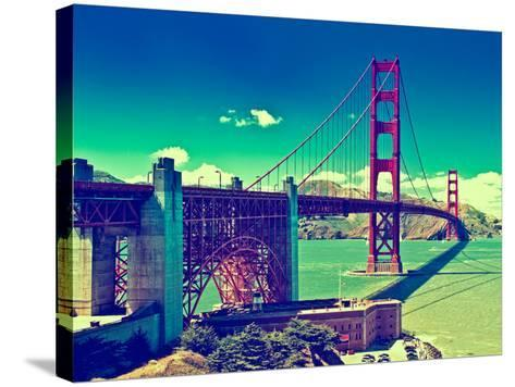 Landscape - Golden Gate Bridge - San Francisco - California - United States-Philippe Hugonnard-Stretched Canvas Print