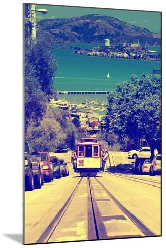 Cable Cars - Streets - Downtown - San Francisco - Californie - United States-Philippe Hugonnard-Mounted Photographic Print
