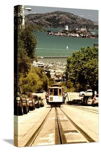 Cable Cars - Streets - Downtown - San Francisco - Californie - United States-Philippe Hugonnard-Stretched Canvas Print