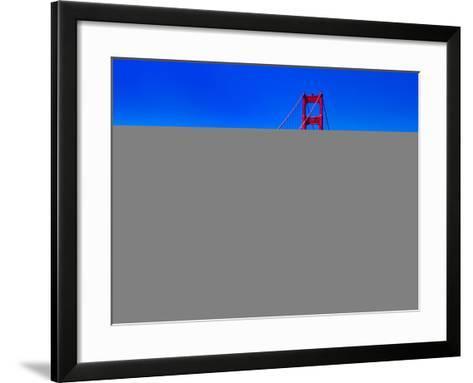 Landscape - Golden Gate Bridge - San Francisco - California - United States-Philippe Hugonnard-Framed Art Print