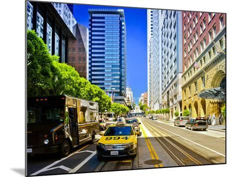 Taxi Cabs - Downtown - San Francisco - Californie - United States-Philippe Hugonnard-Mounted Photographic Print
