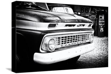 Cars - Chevrolet - Route 66 - Gas Station - Arizona - United States-Philippe Hugonnard-Stretched Canvas Print