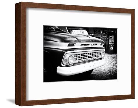 Cars - Chevrolet - Route 66 - Gas Station - Arizona - United States-Philippe Hugonnard-Framed Art Print