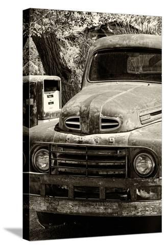 Cars - Ford - Route 66 - Gas Station - Arizona - United States-Philippe Hugonnard-Stretched Canvas Print