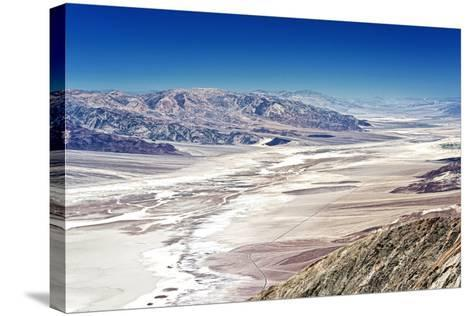 Dante's view - Blacks mountains - Death Valley National Park - California - USA - North America-Philippe Hugonnard-Stretched Canvas Print