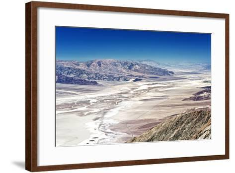 Dante's view - Blacks mountains - Death Valley National Park - California - USA - North America-Philippe Hugonnard-Framed Art Print