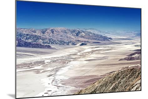 Dante's view - Blacks mountains - Death Valley National Park - California - USA - North America-Philippe Hugonnard-Mounted Photographic Print