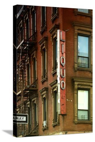 Advertising - Liquors - Harlem - Manhattan - New York - United States-Philippe Hugonnard-Stretched Canvas Print