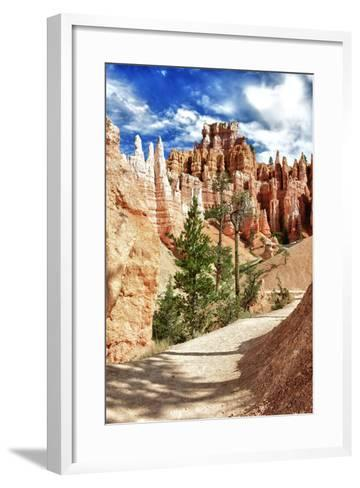 Bryce Amphitheater - Utah - Bryce Canyon National Park - United States-Philippe Hugonnard-Framed Art Print