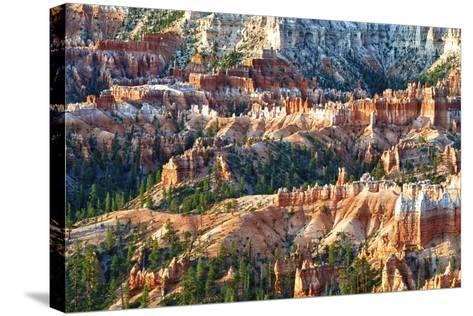 Sunrise Point - Utah - Bryce Canyon National Park - United States-Philippe Hugonnard-Stretched Canvas Print