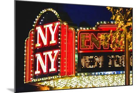 New York New York - Casino - Las Vegas - Nevada - United States-Philippe Hugonnard-Mounted Photographic Print