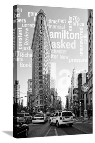 Flatiron Building - Taxi Cabs Yellow - Manhattan - New York City - United States-Philippe Hugonnard-Stretched Canvas Print