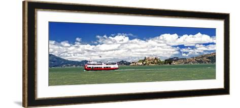 Panoramic Landscape - Alcatraz Island - Prison - San Francisco - California - United States-Philippe Hugonnard-Framed Art Print