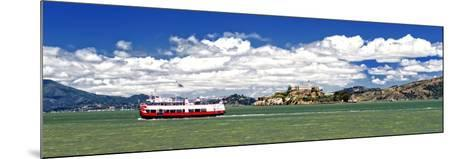 Panoramic Landscape - Alcatraz Island - Prison - San Francisco - California - United States-Philippe Hugonnard-Mounted Photographic Print