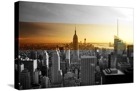 Empire State Building - Sunset - Manhattan - New York City - United States-Philippe Hugonnard-Stretched Canvas Print