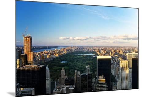 Central Park - Sunset - Manhattan - New York City - United States-Philippe Hugonnard-Mounted Photographic Print