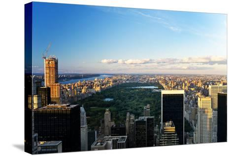 Central Park - Sunset - Manhattan - New York City - United States-Philippe Hugonnard-Stretched Canvas Print