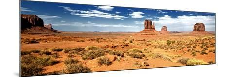 Panoramic Landscape - Monument Valley - Utah - United States-Philippe Hugonnard-Mounted Photographic Print