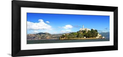 Panoramic Landscape - Alcatraz Island - Prison - San Francisco - California - United States-Philippe Hugonnard-Framed Art Print
