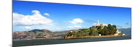 Panoramic Landscape - Alcatraz Island - Prison - San Francisco - California - United States-Philippe Hugonnard-Mounted Photographic Print
