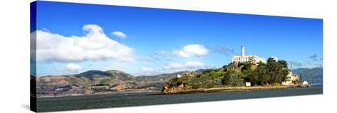 Panoramic Landscape - Alcatraz Island - Prison - San Francisco - California - United States-Philippe Hugonnard-Stretched Canvas Print