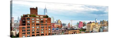 Chelsea with One World Trade Center View, Meatpacking District, Hudson River, Manhattan, New York-Philippe Hugonnard-Stretched Canvas Print