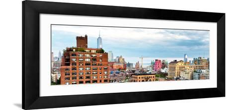 Chelsea with One World Trade Center View, Meatpacking District, Hudson River, Manhattan, New York-Philippe Hugonnard-Framed Art Print