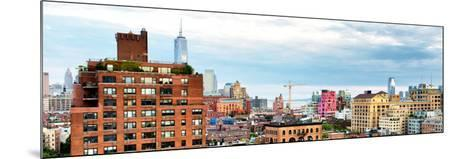 Chelsea with One World Trade Center View, Meatpacking District, Hudson River, Manhattan, New York-Philippe Hugonnard-Mounted Photographic Print