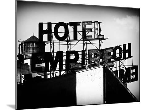 Architecture and Buildings, Rooftop, Hotel Empire, Upper West Side of Manhattan, Broadway, New York-Philippe Hugonnard-Mounted Photographic Print