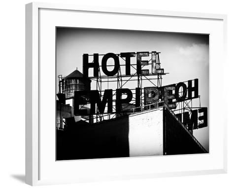 Architecture and Buildings, Rooftop, Hotel Empire, Upper West Side of Manhattan, Broadway, New York-Philippe Hugonnard-Framed Art Print