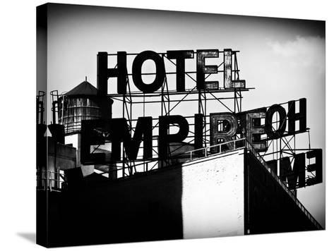 Architecture and Buildings, Rooftop, Hotel Empire, Upper West Side of Manhattan, Broadway, New York-Philippe Hugonnard-Stretched Canvas Print