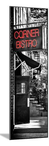 Urban Scene, Corner Bistro, Meatpacking and West Village, Manhattan, New York-Philippe Hugonnard-Mounted Photographic Print