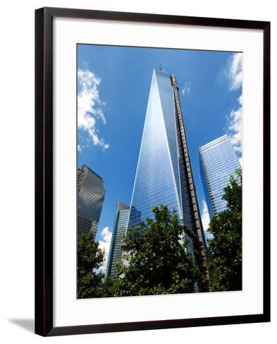Architecture and Buildings, the One World Trade Center (1Wtc), Manhattan, New York, US, USA-Philippe Hugonnard-Framed Art Print