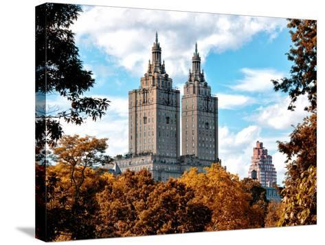 The San Remo Building in the Fall, Central Park, Manhattan, New York, United States-Philippe Hugonnard-Stretched Canvas Print