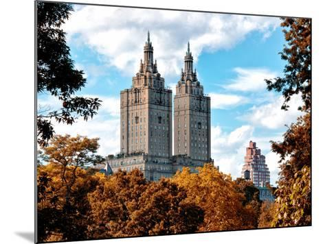 The San Remo Building in the Fall, Central Park, Manhattan, New York, United States-Philippe Hugonnard-Mounted Photographic Print