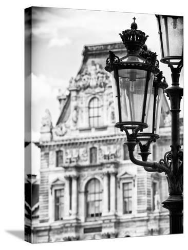 The Louvre Museum, Paris, France-Philippe Hugonnard-Stretched Canvas Print