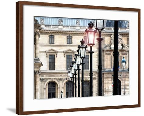 The Louvre Museum, Paris, France-Philippe Hugonnard-Framed Art Print