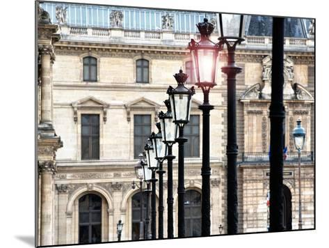 The Louvre Museum, Paris, France-Philippe Hugonnard-Mounted Photographic Print