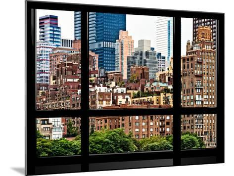 Window View, Special Series, Sutton Place District, Downtown Manhattan, New York-Philippe Hugonnard-Mounted Photographic Print