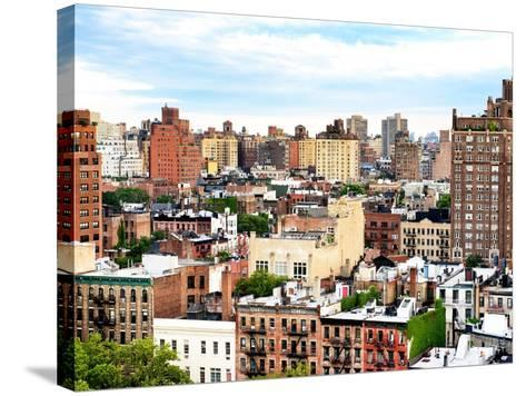 Landscape Buildings of Chelsea, Meatpacking District, Manhattan, New York-Philippe Hugonnard-Stretched Canvas Print
