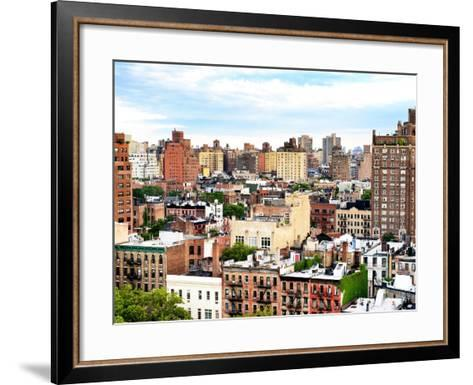 Landscape Buildings of Chelsea, Meatpacking District, Manhattan, New York-Philippe Hugonnard-Framed Art Print