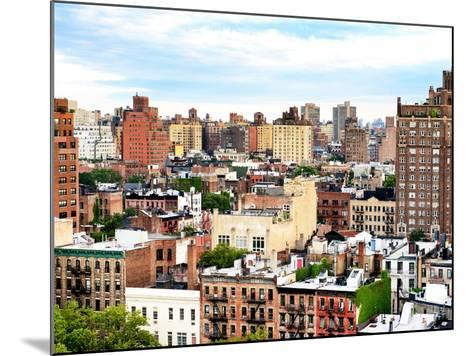 Landscape Buildings of Chelsea, Meatpacking District, Manhattan, New York-Philippe Hugonnard-Mounted Photographic Print