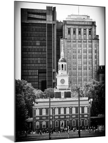 Independence Hall and Pennsylvania State House Buildings, Philadelphia, Pennsylvania, US-Philippe Hugonnard-Mounted Photographic Print