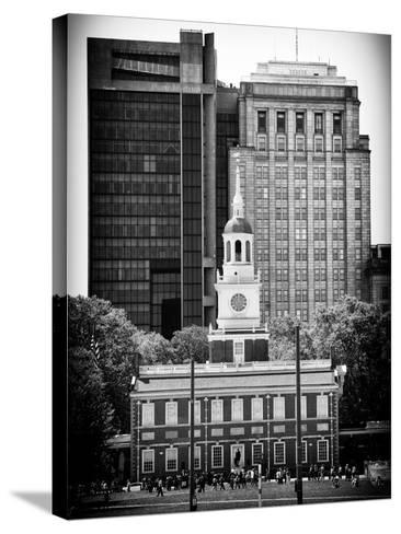 Independence Hall and Pennsylvania State House Buildings, Philadelphia, Pennsylvania, US-Philippe Hugonnard-Stretched Canvas Print