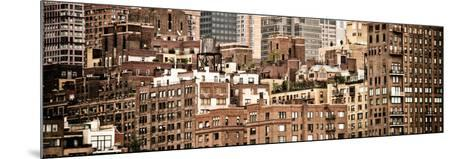 Panoramic Landscape, Sutton Place District, Downtown Manhattan, New York, Vintage-Philippe Hugonnard-Mounted Photographic Print