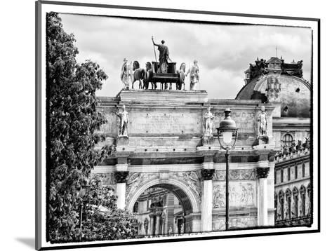 Arc De Triomphe du Carrousel, the Louvre Museum, Paris, France-Philippe Hugonnard-Mounted Photographic Print