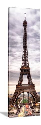 Eiffel Tower, Paris, France-Philippe Hugonnard-Stretched Canvas Print