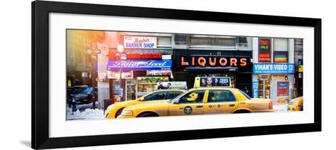 Panoramic View - Instants of NY Series-Philippe Hugonnard-Framed Art Print