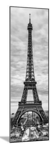 Eiffel Tower, Paris, France - Black and White Photography-Philippe Hugonnard-Mounted Photographic Print