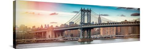 Panoramic Landscape - Instants of NY Series-Philippe Hugonnard-Stretched Canvas Print